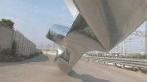 Devis Venturelli, Superfici fonetiche, still da video HD, 3' loop (2009)