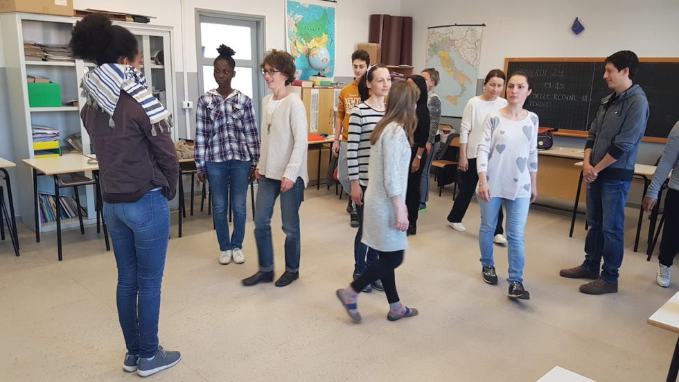 Elena Pugliese prepara con i centri diurni CCPIA di Torino il lavoro per Biennale Democrazia 2019